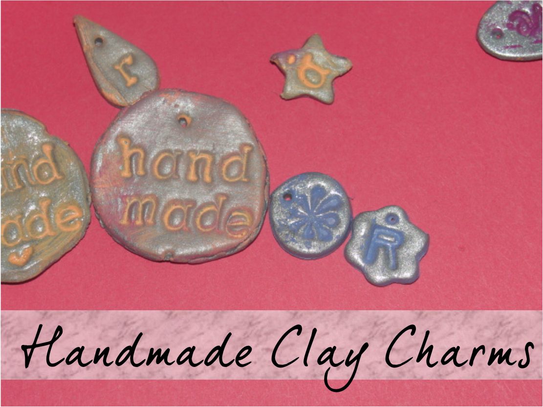 how to make clay charms.